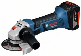Bosch GWS 18-125 V-Li akkus sarokcsiszoló L-Boxx-ban (0.601.93A.30B)