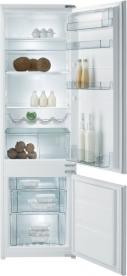 Gorenje kombinált, beépíthető hűtőszekrény RKI4181AW
