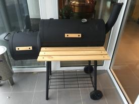 Faszenes grillmozdony, smoker grill (15057) (15057)