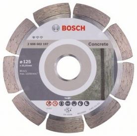 Bosch Standard for concrete gyémánt darabolótárcsa Beton, 125-22,23 (2608602197)