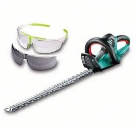 Bosch AHS 65-34 sövénynyíró + Uvex védőszemüveg