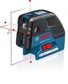 Bosch GCL 25 pontlézer állványos (0 601 066 B01)