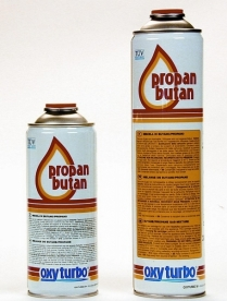 Oxyturbo PropanButan gázpalack 210gr