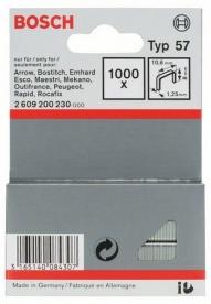 Bosch laposhuzal-kapocs 57-es típus - 10,6 x 1,25 x 8 mm (2609200230)