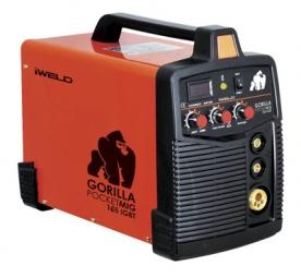 Iweld Pocketmig 165A-es fogyóelektródás, védőgázas ívhegesztő inverter