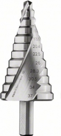 Bosch 12 lépcsős fúró HSS, PG7-PG21 (2608587428)