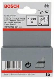 Bosch laposhuzal-kapocs 57-es típus - 10,6 x 1,25 x 10 mm (2609200231)