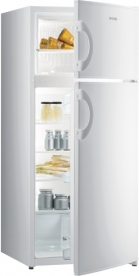 Gorenje kombinált, felülfagyasztós hűtőszekrény RF4121AW