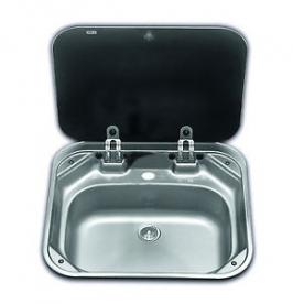Dometic beépíthető mosogató üvegtetővel VA8005