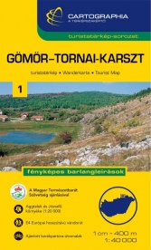 Gömör-Tornai-karszt turistatérkép 1.