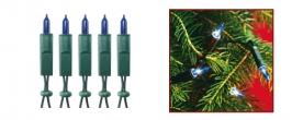 Home fényfüzér kék (KI 100/BL)