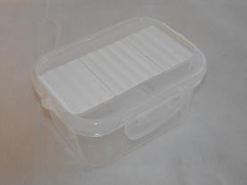 Fűszertartó szóró tetővel, fehér műanyag 0,5 kg