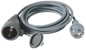 Home hosszabbító gumikábel 30 m NV 7-30/GY