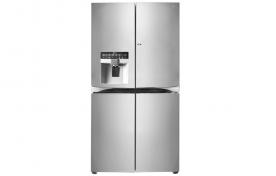 LG kombinált alulfagyasztós hűtőszekrény, 4 ajtós (GMJ916NSHV)