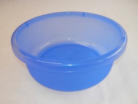 Mércés kék műanyagtál  9 l