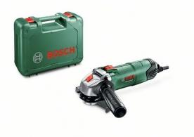 Bosch PWS Universal+ 115 Exkluzív sarokcsiszoló, kofferban (06033A2407)