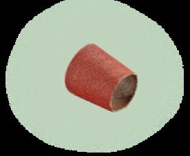 Bosch Kúpos csiszolóhüvely, 30mm Szemcseméret: 80 (1.600.A00.157)