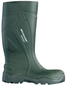 Dunlop Purofort Plus gumicsizma, zöld 47-es (GAND95747)