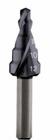Bosch 5 lépcsős fúró HSS-AlTiN, 4-12 mm (2608588064)