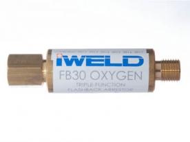 Iweld FB30 visszavágás-gátló patron oxigén reduktorra G1/4