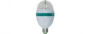 Home LED diszkólámpa (DL 3/27RGB)