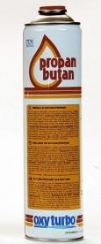 Oxyturbo PropanButan gázpatron 210gr
