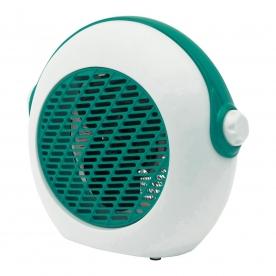 Home hordozható ventilátoros fűtőtest, türkiz (FK 37/T)