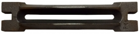 KCSM rostély 310×70 mm, 2,2kg (15030)