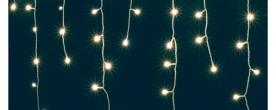 Home LED-es fényfüggöny, melegfehér (KAF 200L 10M/WW)