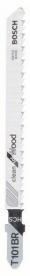 Bosch szúrófűrészlap fához T 101 BR, Clean for Wood 25 db (2608633623)