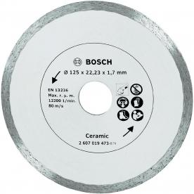 Bosch gyémánt vágótárcsa kerámia és csempevágáshoz, 125 mm (2607019473)