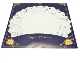 Tortaalátét papír csipke 42 cm (12 db) (12356)