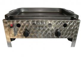 BGT-2 kétégős asztali pecsenyesütő készülék, földgáz üzemű
