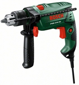 Bosch PSB 530 RE ütvefúrógép (kofferben) (0.603.127.023)