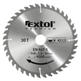 Extol Premium keményfémlapkás körfűrészlap 300×30 mm (8803246)