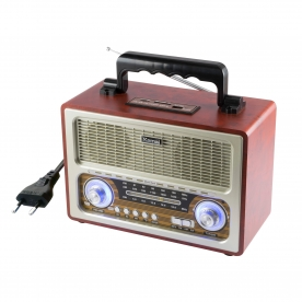 SAL Retro táskarádió és multimédia lejátszó (RRT 3B)
