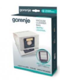 Gorenje GB2 5db papír porzsák, bemeneti motorszűrővel (570731)