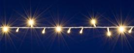 Home LED-es fényfüzér melegfehér, sorolható (DLI 200/WW)
