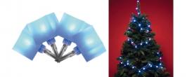 Home LED-es kocka fényfüzér kék (KLC 48/BL)