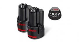 Bosch 10,8 V-os 1,5 Ah-s akkukészlet Professional (1.600.Z00.03Z)