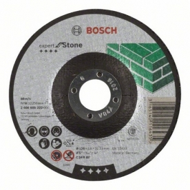 Bosch Expert for Stone darabolótárcsa hajlított, C 24 R BF, 125 mm, 22,23 mm, 2,5 mm (2608600222)
