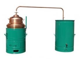 Panka kisüsti pálinkafőző 100 L-es kétlépcsős, keverővel (PANKA100K)