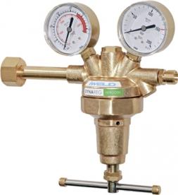 Iweld Dynareg nitrogén palack nyomáscsökkentő 230/150 bar, 2 manométerrel