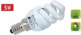 KFS 5/14M Home kompakt fényforrás, maxi spirál 2700 K, 229 lm