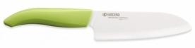 Kyocera Santoku kerámia kés zöld 14 cm (FK-140WH-GR)