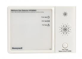 Honeywell földgáz érzékelő, riasztó HF500NG