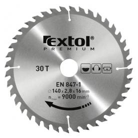 Extol Premium keményfémlapkás körfűrészlap 210×30 mm (8803236)
