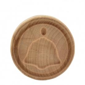 Sütipecsét fából, harang (28371H)