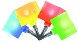Home LED-es kocka fényfüzér színes (KLC 48/M)