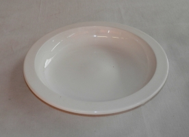 Mély műanyag tányér